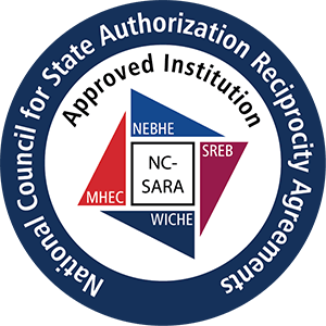 NC-SARA Approved Institution logo round 300px